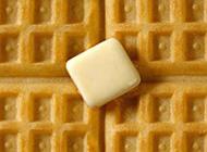 意式奶油松饼图片