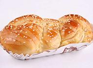 自制白芝麻面包图片