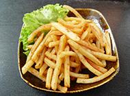 香酥美味的炸薯條圖片