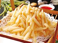 可口酥軟的炸薯條圖片