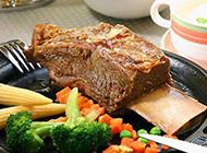 美味誘人西餐牛排套餐圖片