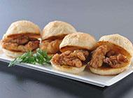 雞肉漢堡圖片小巧美味