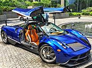 超酷炫的帕加尼跑車攝影圖片