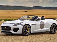 新一代白色捷豹汽车图片精选