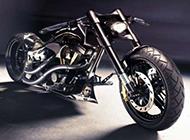 帅气的摩托车高清桌面壁纸