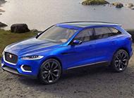 電光藍捷豹SUV C-X17概念車