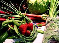 富含维生素的新鲜蔬菜图片