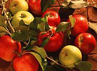 青涩的红绿苹果高清图片素材