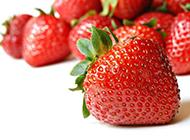 香甜诱人的草莓高清图