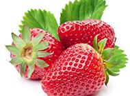 新鲜的红色草莓图片