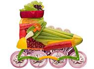 创意蔬菜广告装饰画