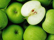 酸甜可口的青苹果图片