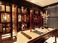 中式古典复式别墅装修效果图