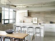 吧台式厨房装修设计效果图