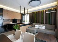 欧式高档城市公寓装修效果图