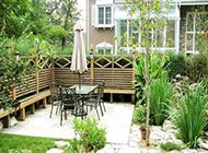 中式别墅庭院花园设计大气清新