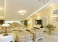 现代田园客厅设计风格温馨精美