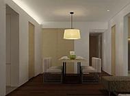150平豪華公寓簡歐裝修效果圖