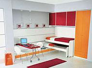 色彩豐富且舒適的兒童房裝修效果圖