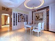 打造高雅奢华的餐厅装修效果图赏析