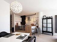 北欧黑白精简艺术风格装饰设计效果