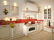 美式简约厨房时尚装修效果图