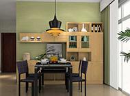 整洁舒适现代简约餐厅设计