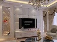 精致且大气的欧式电视背景墙效果图