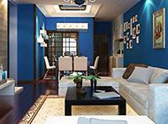 公寓式地中海客廳裝修圖賞析