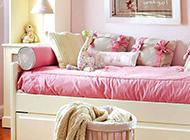 12平女兒童房粉嫩風格裝修效果圖實例