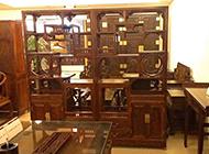 中式新古典博古架装潢图片