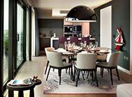 现代美式别墅装修效果图精致优雅