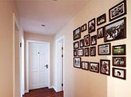 美式走廊相片墻設計圖片