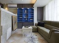 小户型简单实用客厅电视背景墙图片
