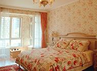 温馨的田园卧室装修图片