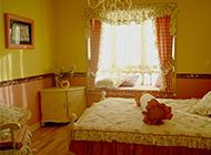 温馨浪漫的田园卧室装修效果图