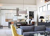 现代与美式混搭别墅装修效果图欣赏