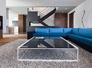 标准美式极简复式公寓装修效果图