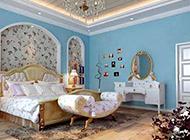很有格調的地中海臥室裝修效果圖