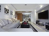 大户型简约风格客厅电视背景墙效果图