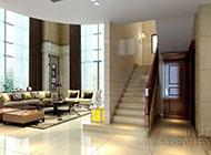 时尚温馨的复式楼梯装修效果图