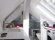 顶层阁楼创意简洁装修效果图