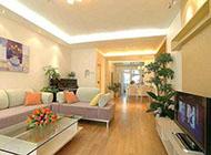 110平方米温馨精致错层公寓装修效果图
