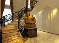 高调奢华的楼梯装修效果图