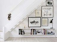 樓梯下的相片墻設計圖片