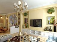 家庭裝修地中海風格背景墻效果圖