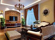 235平米复式四居室欧美风格装修效果图