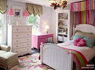 美式公寓浪漫4居室装修案例欣赏