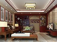 大型别墅中式古典风装修效果图