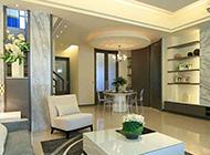 低调奢华的复式公寓效果图